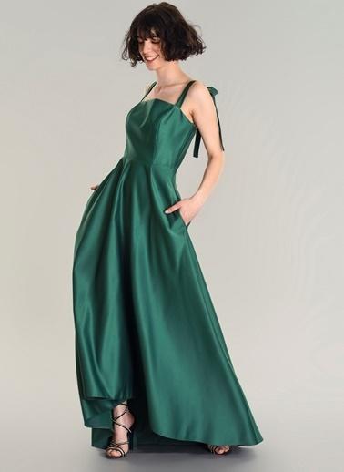 Agenda Elbise Yeşil